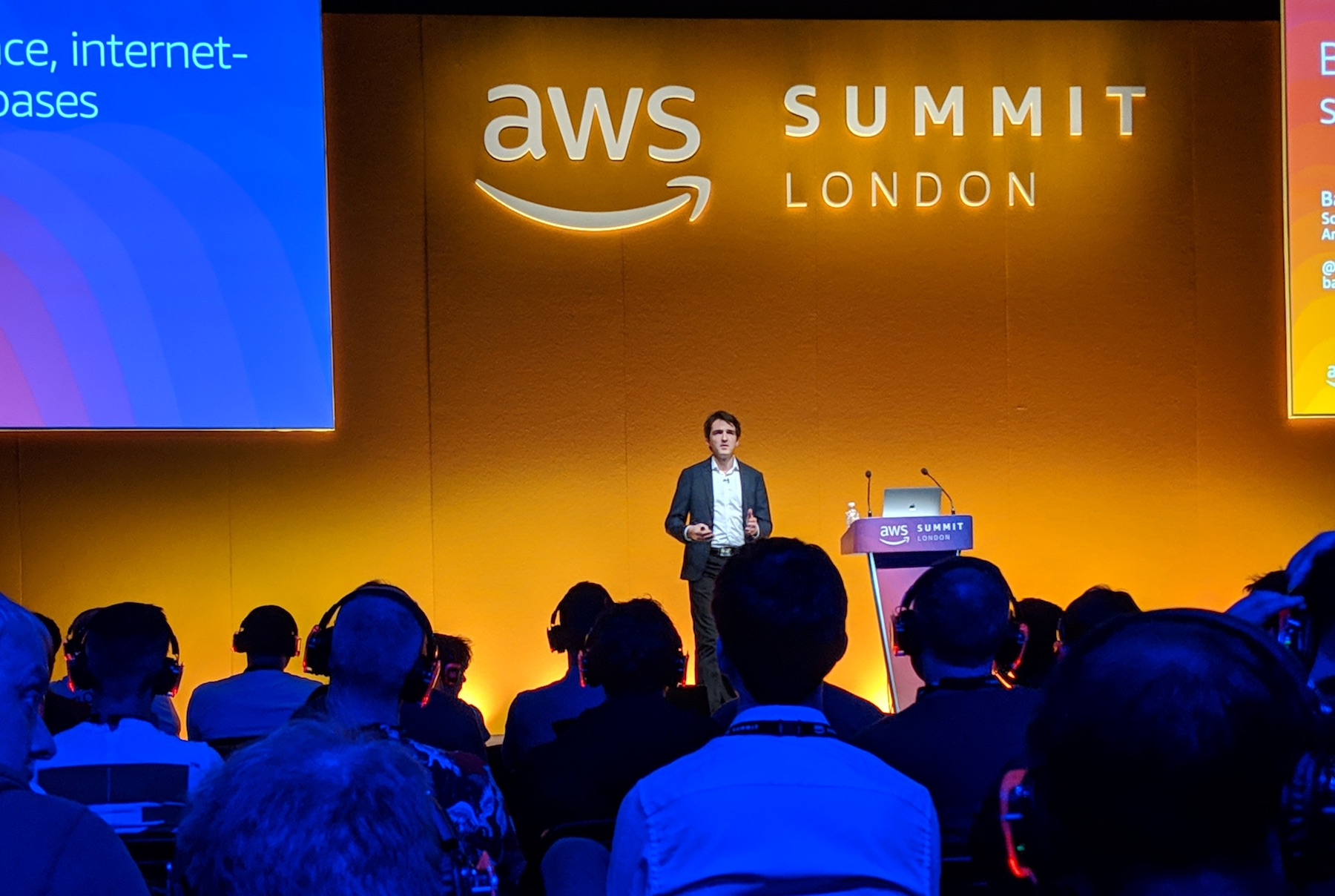 AWS Blockchain summit talk